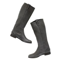 The Archive Leather Boot with Extended Calf.. How cute are these ?!
