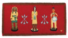 Cigar Store Indians Rug/Crow's Nest Trading Co.