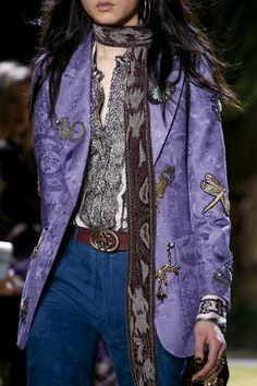 Roberto Cavalli Fall 2016 Ready-to-Wear Accessories Photos - Vogue Runway Fashion, Boho Fashion, Winter Fashion, Womens Fashion, Fashion Trends, Milan Fashion, Roberto Cavalli, Looks Style, My Style