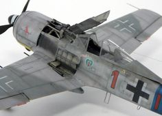 Focke-Wulf Fw 190 A-8 by Jamie Haggo (Eduard 1/48)