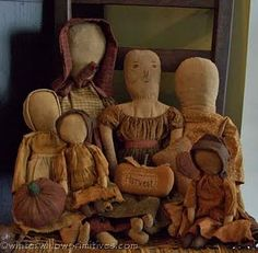 "Primitive dolls~ because its importanto to remember it wasnt always ""i want it so i get it"""