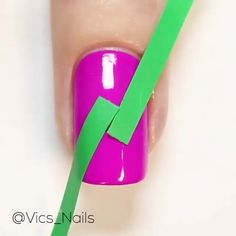 Nail Art Designs Videos, Pink Nail Designs, Fingernail Designs, Nail Design Video, Nail Art Videos, Simple Nail Art Designs, Nails Design, Trendy Nail Art, Stylish Nails