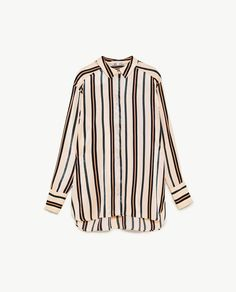 Image 8 of STRIPED SHIRT from Zara