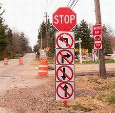 No way out...