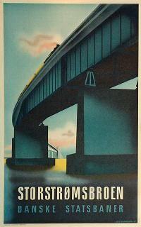 DSB - Storstrømsbroen by Aage Rasmussen