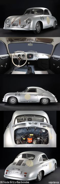 1953 Porsche 356 SL Le Mans Recreation. Source: RM Auctions