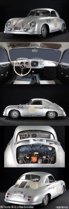 1953 Porsche 356 SL Le Mans Recreation. Source: RM Auctions