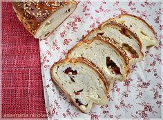 Ama in bucatarie: Paine dulce cu branza si merisoare Romania, Bread, Food, Brot, Essen, Baking, Meals, Breads, Buns