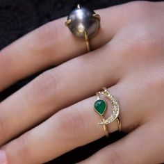 44 Classy Tear Drop Rings that Can Leave You Craving for More