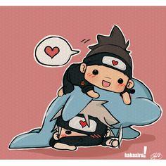 Kawaii!!! KakaIru is like my only ship that survived Naruto ending...
