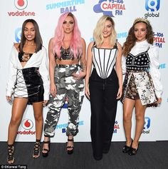 Sassy: When asked about how they react to being told to wear more clothes, Jesy said: 'I s...