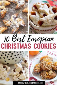 Swedish Cookies, Danish Cookies, Greek Cookies, German Cookies, French Cookies, Holiday Desserts, Holiday Baking, Christmas Baking, Holiday Foods