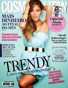 Nicole Scherzinger - Cosmopolitan Magazine, Portugal, Outubro 2014