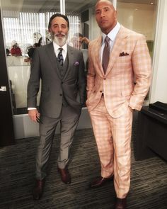 We make great friends but... better enemies. Welcome one of the greats Andy Garcia to our family. #BALLERS #Season2 #HBO Ball out.. by therock