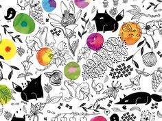 The Wallery - amaia arrazola illustration