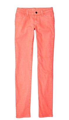 trend: colored jeans — arizona neon jeans