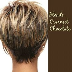 Gorgeous highlights and very chic cut!!!