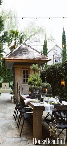 Outdoor Entertaining | Outdoor Dining Areas | 50 Beautiful Outdoor Spaces