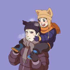 Obito and Watashi his son ❤️❤️❤️