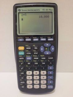 Texas Instruments TI-83 Plus Graphing Calculator Works Great - Free Shipping #TexasInstruments
