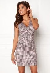 Chiara Forthi Stacey Dress Pink / Patterned Bubbleroom.no