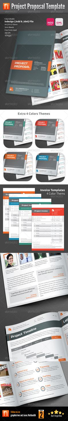 Project Proposal Template - V1 - Updated Project proposal - advertising proposal template