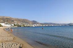 one of the many amazing beaches on Paros