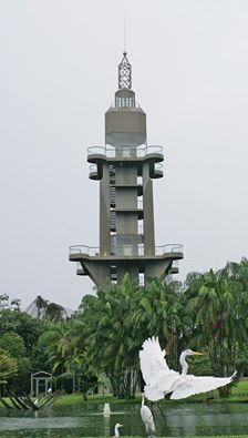Elevador-miradouro do Mangal das Garças - Belém do Pará, Brasil.