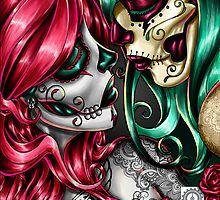 I love Candy Skulls💋 Day Of The Dead Girl, Day Of The Dead Skull, Sugar Skull Tattoos, Tribal Tattoos, Ear Tattoos, Celtic Tattoos, Sleeve Tattoos, Caveira Mexicana Tattoo, Sugar Skull Girl