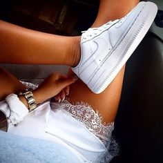 Nike-Air-Force-1-07-White outfits - Google Search