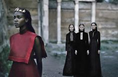My favourite editorial this year> Valentino Haute Couture Fall/Winter 2015 for Vogue Italia September 2015 photographed by Fabrizio Ferri