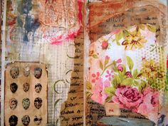 art journal everyday by cathy.bluteau, via Flickr