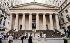 Federal Hall National Memorial. Photo: Will Steacy  												  											  										  										  											  												  											Downtown Manhattan