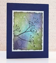 Today we have a pretty card sent in by the lovely Debbie Fitch. She teaches Memory Box classes at Baas Junction (now Bayer's Pampered Stampers) in Ohio! The card she made to share today is classic and clean and beautiful....