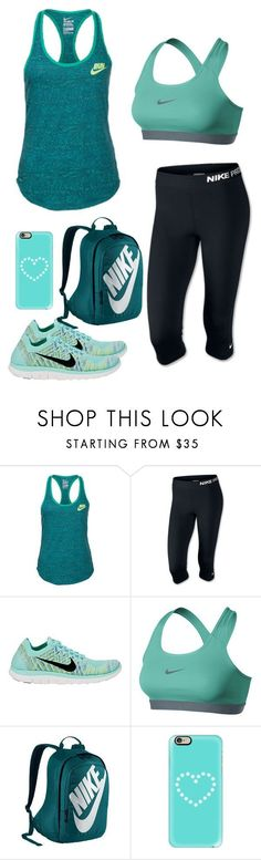 """""""Untitled #43"""" by jacqueline66 ❤ liked on Polyvore featuring NIKE and Casetify"""