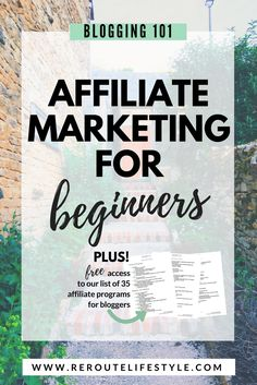 How To Make Money Blogging with Affiliate Marketing   Blog Info     Affiliate Marketing for Beginners