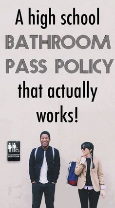 A High School Bathroom Pass Policy that Actually Works - Artsy Dork High School Biology, High School Science, High School Classes, High School Students, High Schools, High School Teachers, Ap Biology, High School Tips, Teaching Biology