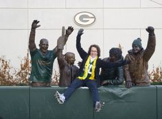 Yes, I did the Lambeau Leap! What's on your Bucket List? #teamcolors #sportsfan