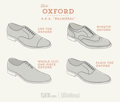 The Ultimate Guide to Dress Shoes: Oxford Balmoral