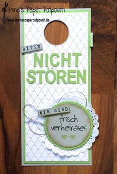 Türanhänger / doorhanger / Hochzeit / Geschenkidee / Stampin' Up! / DSP Trau Dich / Beeindruckende Buchstaben / Framelits Feuerwerk / Drehstempel Alphabet / Perfekter Tag www.janinaspaperpotpourri.de