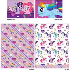 Walmart: My Little Pony Pony Fied Sheet Set My Little Pony Bedding, My Little Pony Baby, Hasbro My Little Pony, My Little Pony Comic, Twin Sheets, Twin Sheet Sets, Bedroom Toys, Girls Bedroom, Bedroom Ideas