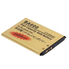 2450mAh 3.7V Gold Replacement Battery For Sony Xperia U ST25i