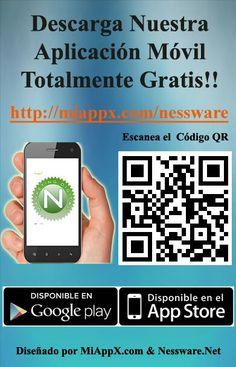Descarga nuestra #App #AplicacionMovil totalmente gratis!!  http://miappx.com/nessware 👍📲
