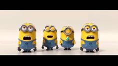 Watch more at: birthday minions birthday funny birthday cute song. Happy Birthday Greeting from Minions . Despicable Me and Despicable M. Minion Gif, Minions Singing, Amor Minions, Despicable Me 2 Minions, Minions Love, My Minion, Minions Quotes, Minion Videos, Funny Friday