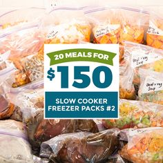 Slow Cooker Roast Beef, Slow Cooker Freezer Meals, Slow Cooker Pasta, Slow Cooker Tacos, Slow Cooker Chili, Dump Meals, Frugal Meals, Meal Planning, Family Planning
