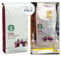 Better-than-Free Starbucks Big Bagged Coffee at Target!