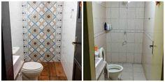Casal arregaça as mangas e transforma o banheiro de casa: inspire-se | Casa&Cia