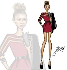 @zendaya  Be Inspirational ❥ Mz. Manerz: Being well dressed is a beautiful form of confidence, happiness & politeness