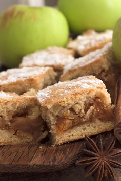 Easy Cinnamon Apple Brownies Dessert Recipe