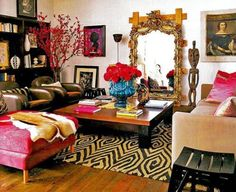 Love ecclectic decor